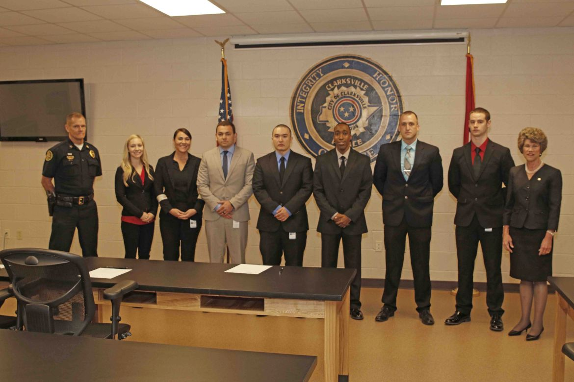 Clarksville PD swears in seven new officers ...