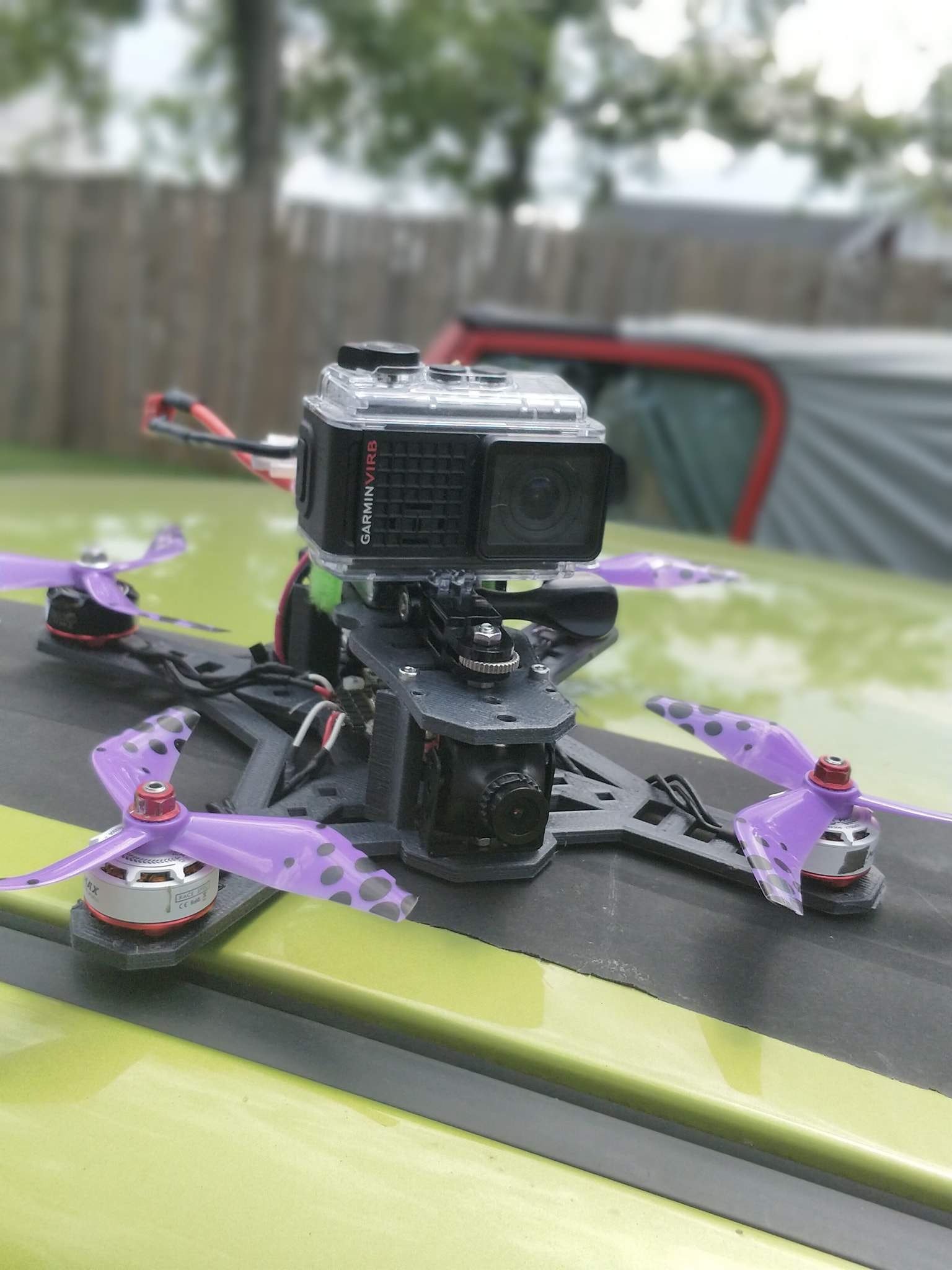 An Above-Us 3D printed Racing Drone