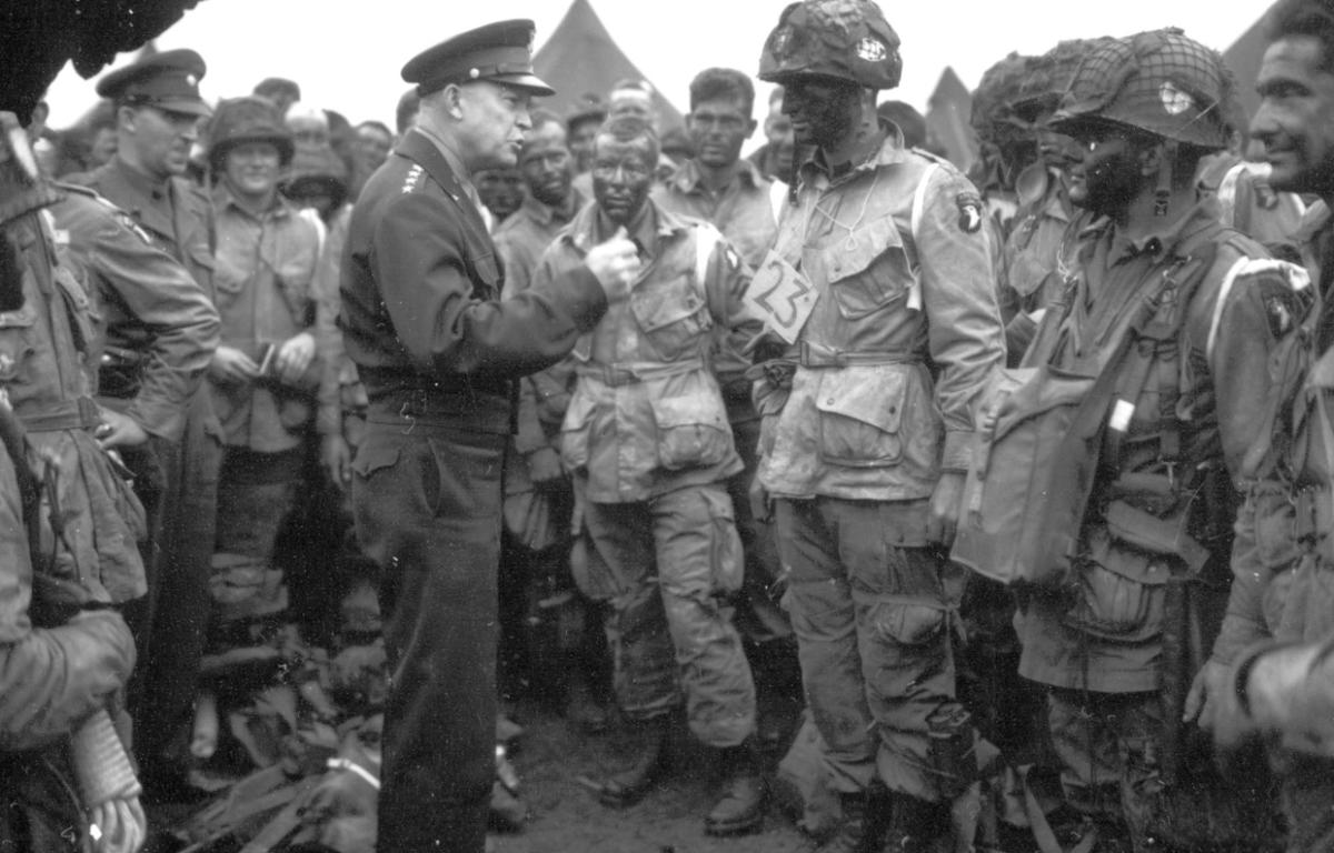 101st Airborne Division In History D Day June 6 1944 Clarksvillenow Com