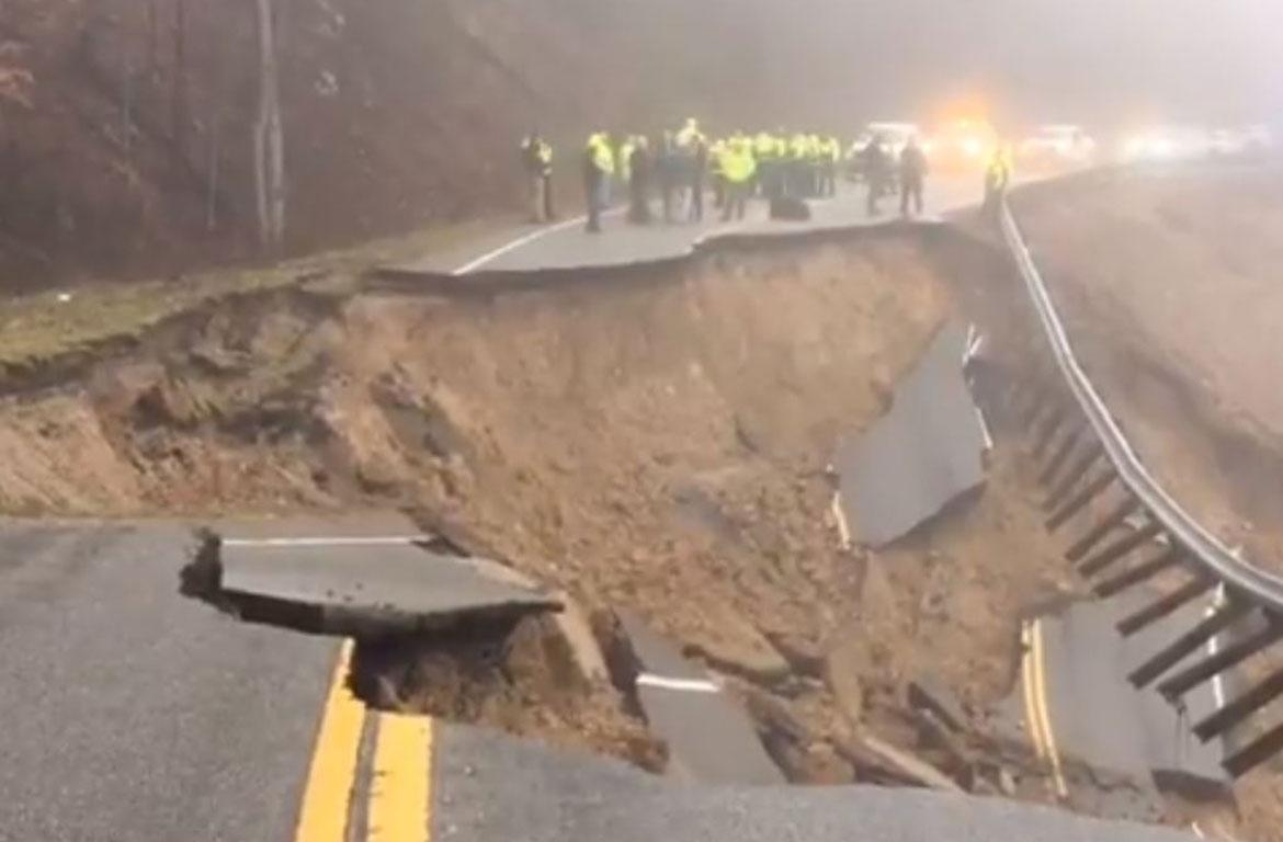 One Person Killed In Mudslide On Tennessee Highway Clarksvillenow Com