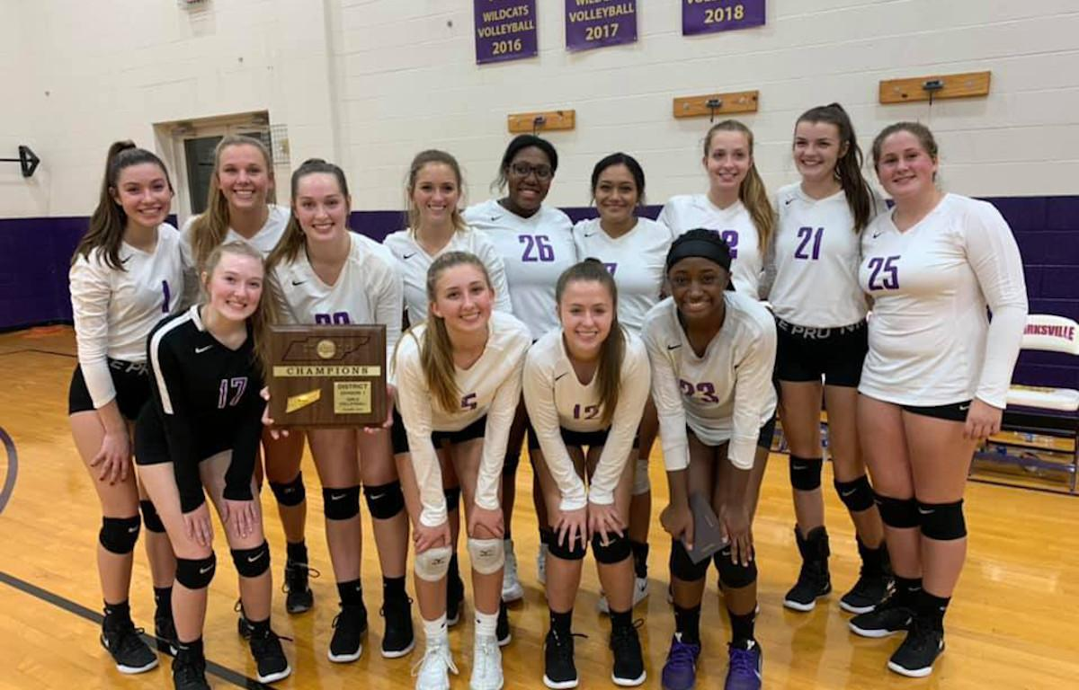 Clarksville Volleyball Earns Top Honors In District 13 Aaa Clarksvillenow Com