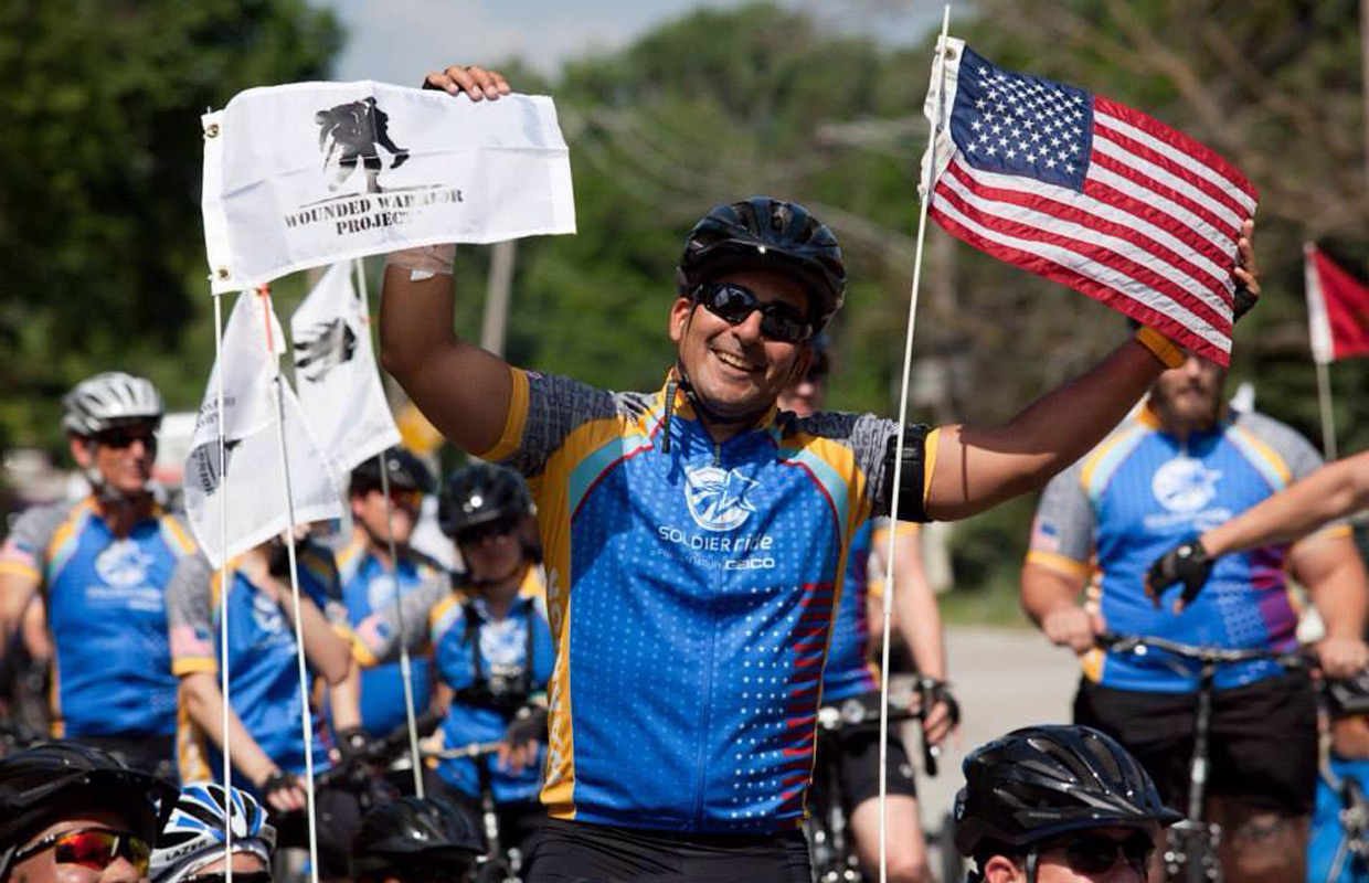 wounded warrior project soldier ride It was a 25-mile ride from town hall to the ocean, all to raise money for the wounded warrior project a service veteran helps lead the way at the 8th annual wounded warrior project soldier ride in the town of babylon on july 17, 2015 (credit: mona rivera/1010 wins.