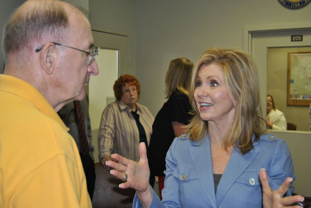Marsha Blackburn in Clarksville