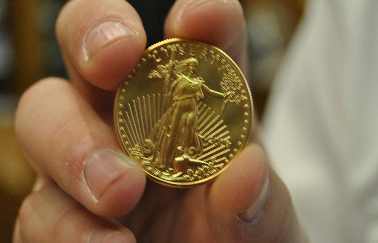 Salvation Army Receives Gold Coin Donation