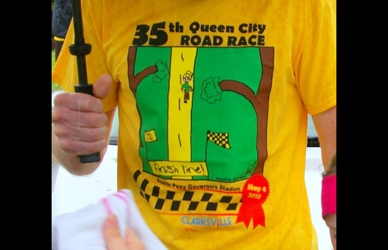 Queen City Road Race T Shirt Contest For Kids Clarksvillenow