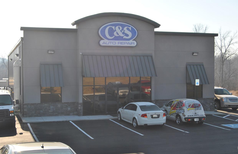 c s auto repair has new location. Black Bedroom Furniture Sets. Home Design Ideas