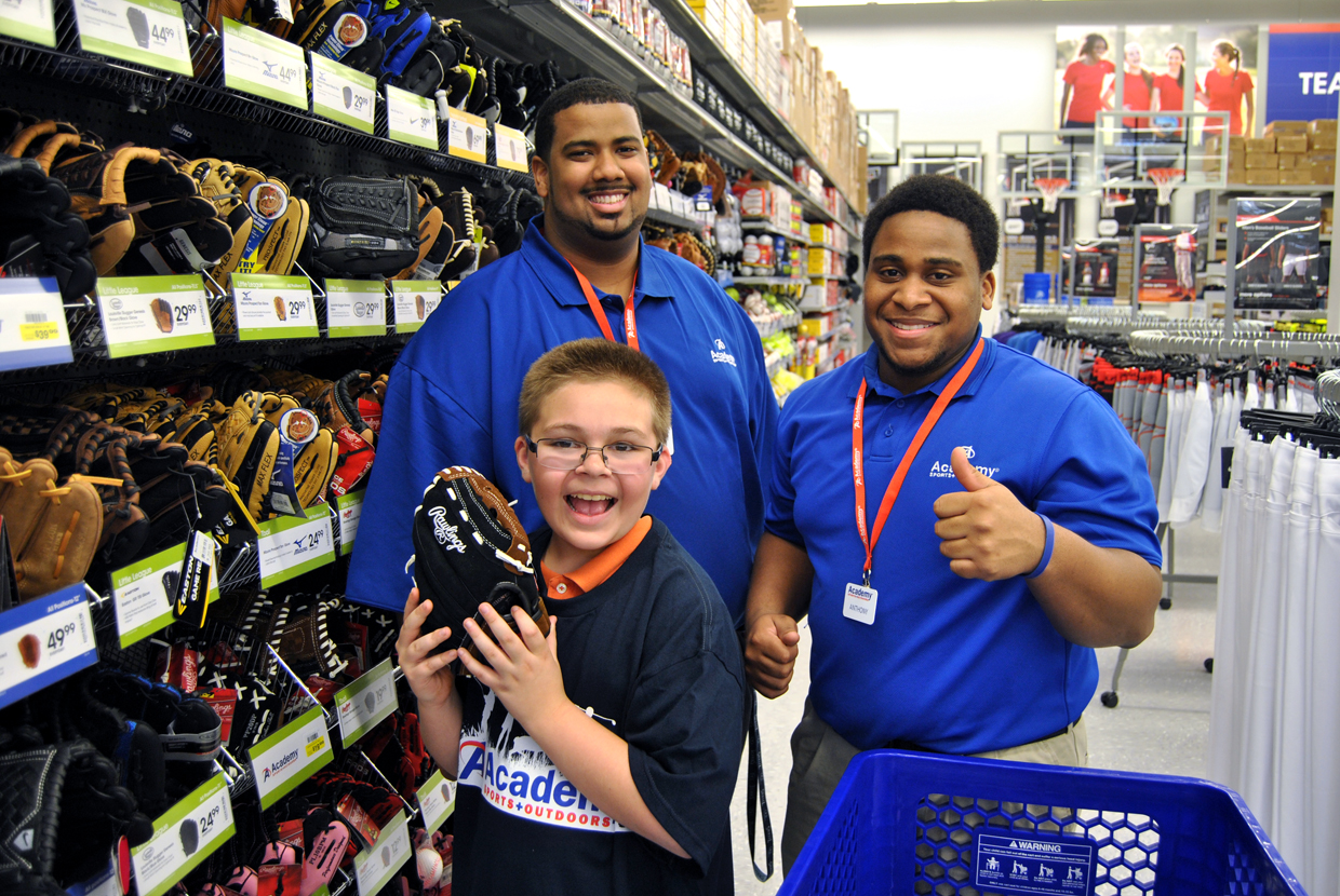 12fafa4bd4a Academy Sports Outdoors- Shopping Spree Opening- Philip Sparn45 ...
