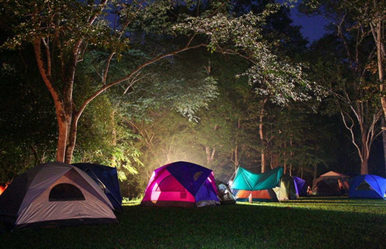 Sleep under the stars at Spring Family Campout ...