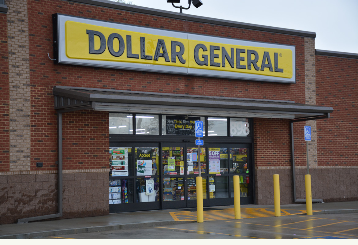 The Dollar General store on Kent Island is full of hidden treasures. Not all the products cost a dollar but they carry everything from groceries to clothing to home accessories to gift/cards to toys to cosmetics.