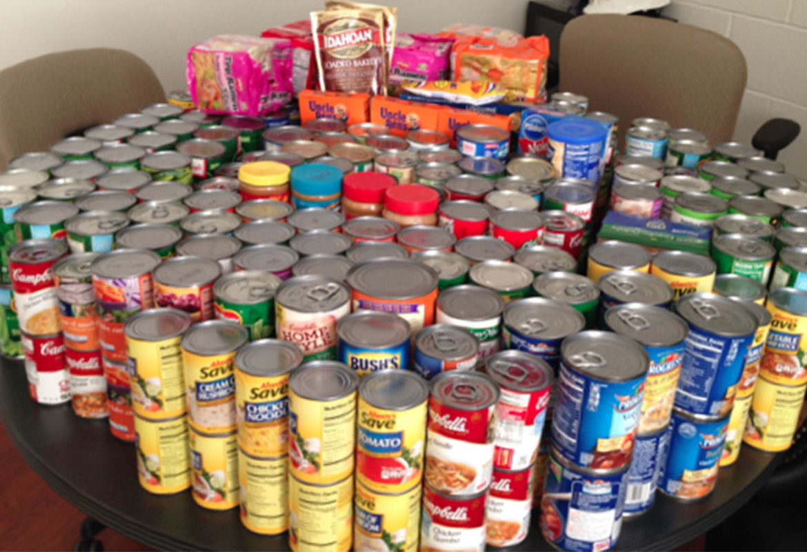 How To Organize Canned Food Drive