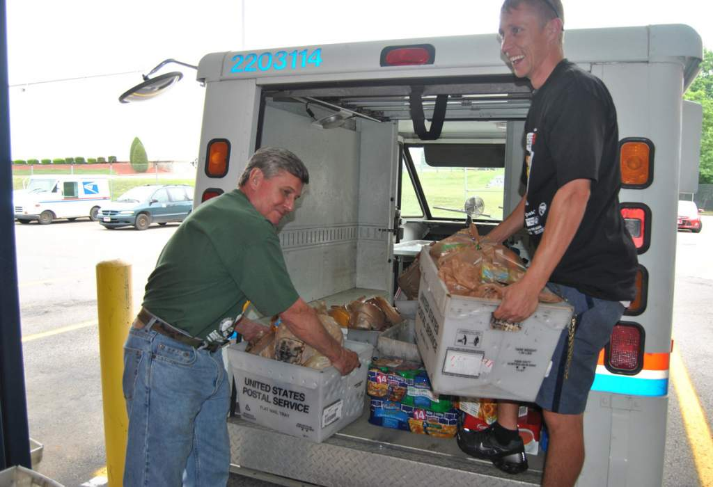 Postal carriers' food drive Saturday