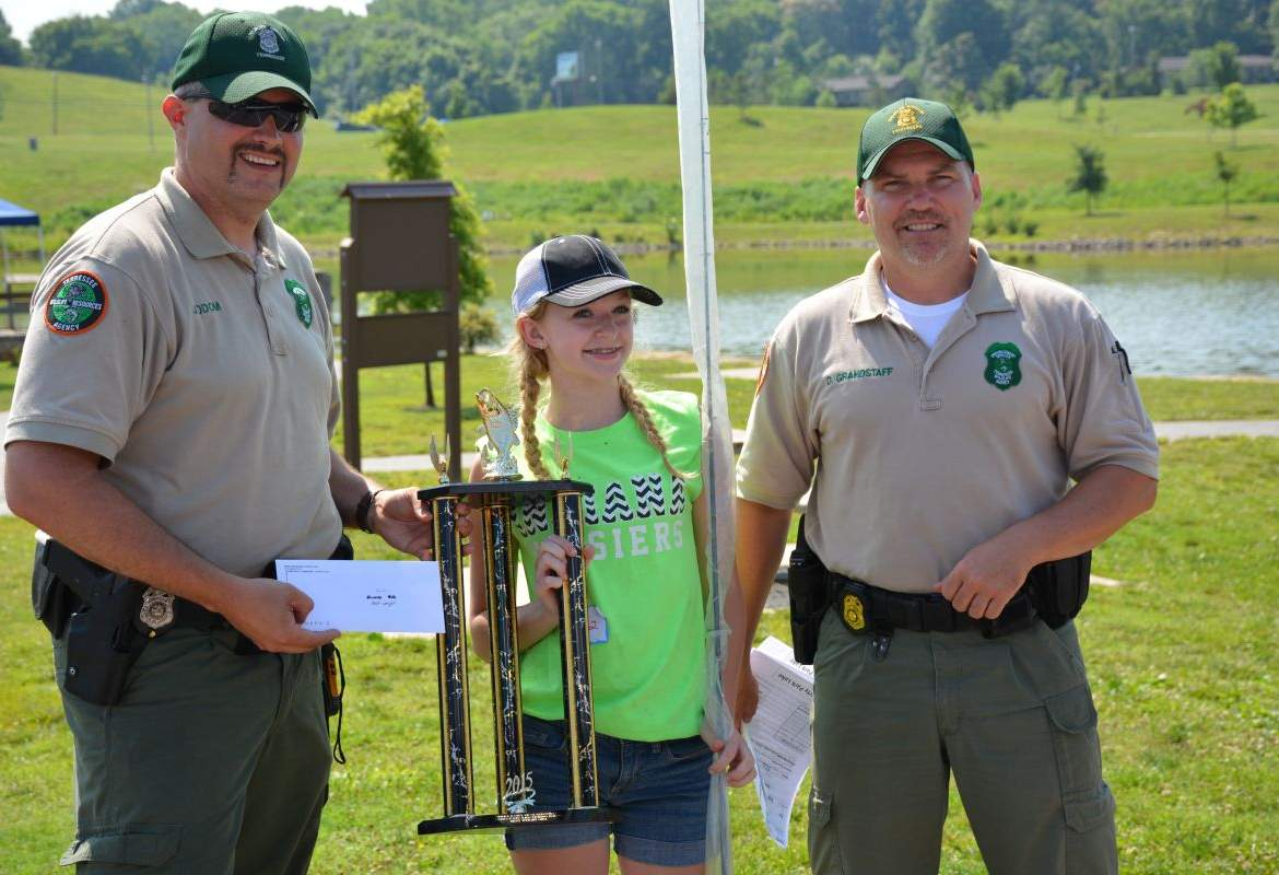 Twra fishing rodeo 14 for Twra fishing report