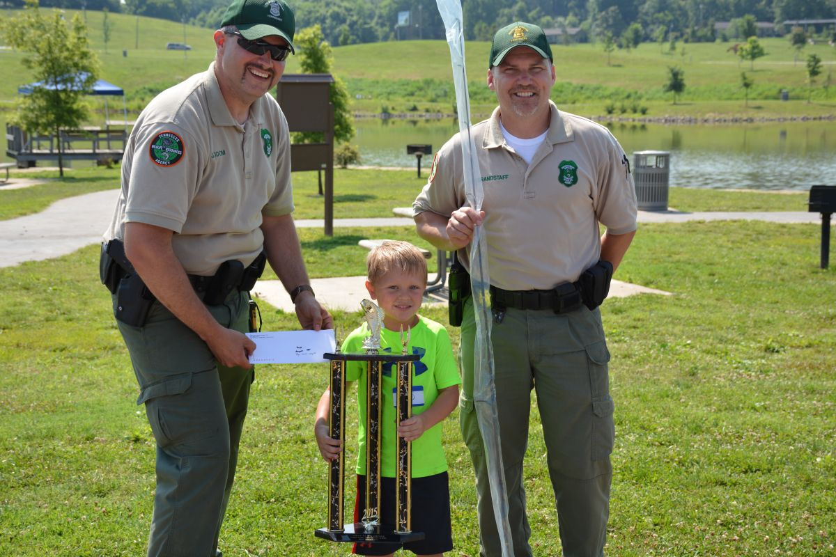 Twra fishing rodeo 15 for Twra fishing report