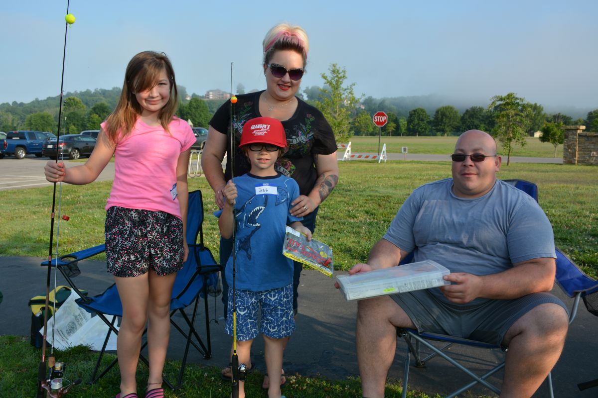 Twra fishing rodeo 23 for Twra fishing report
