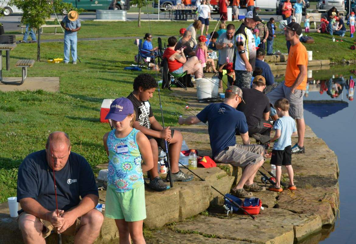 Twra fishing rodeo 27 for Twra fishing report