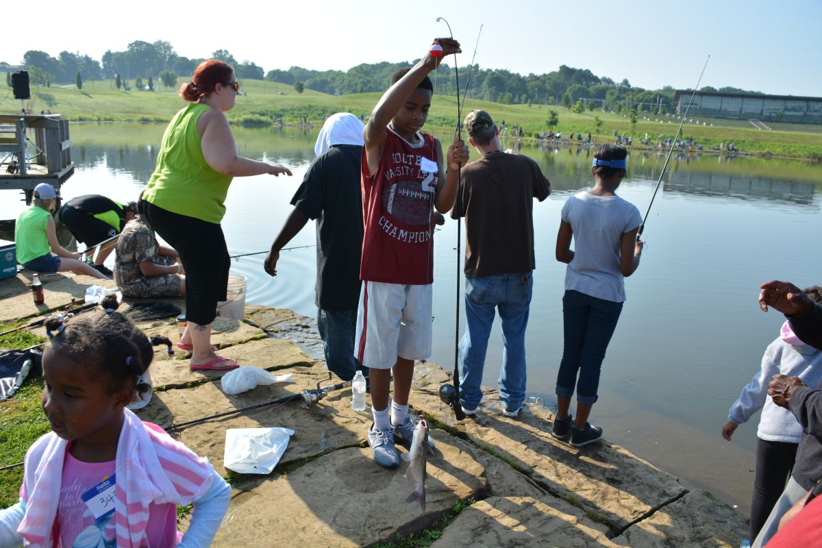 Twra fishing rodeo 55 for Twra fishing report