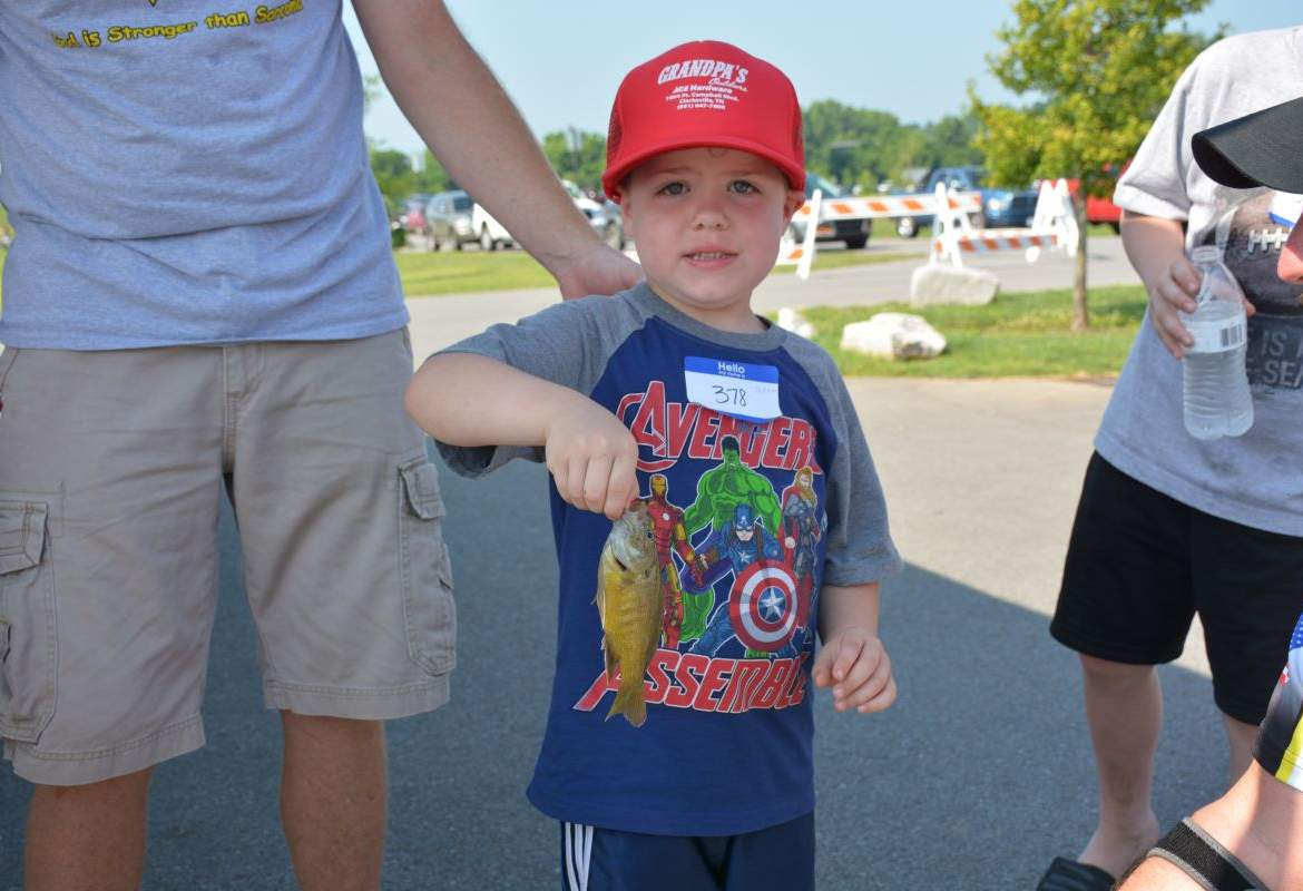 Twra fishing rodeo 76 for Twra fishing report