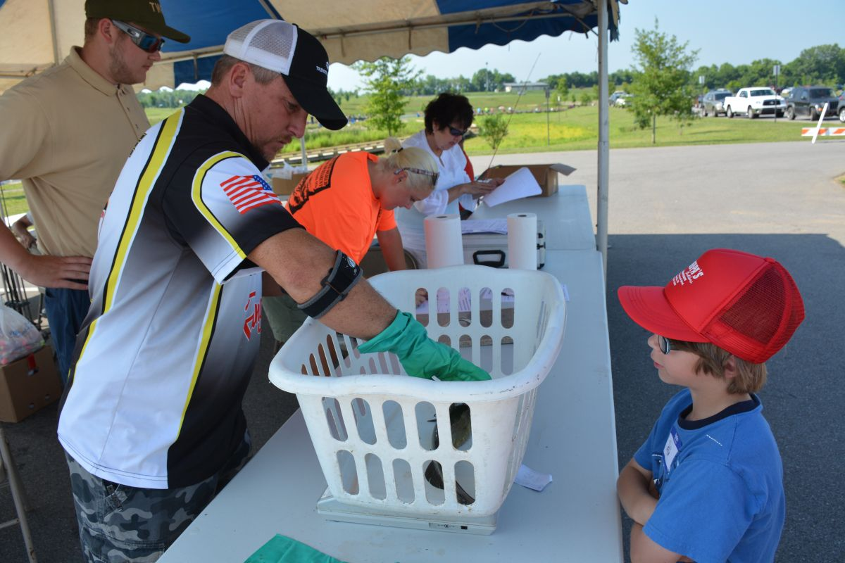 Twra fishing rodeo 78 for Twra fishing report