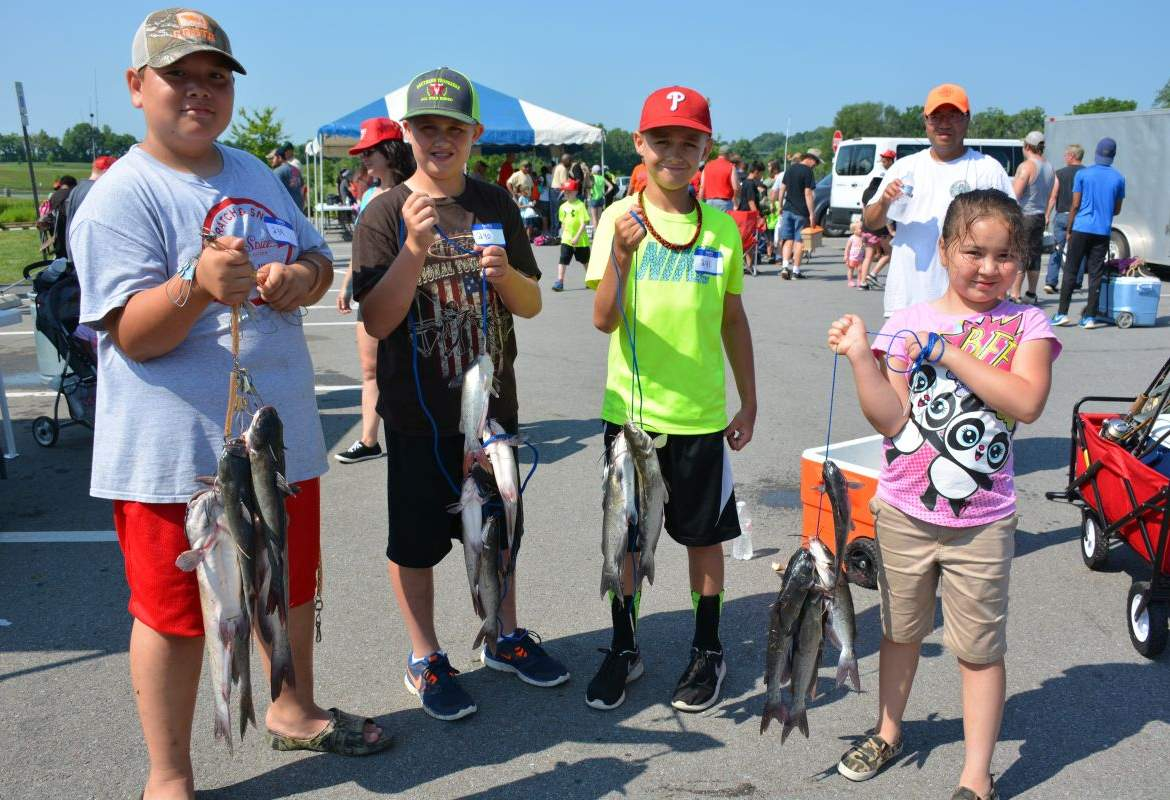 Twra fishing rodeo 8 for Twra fishing report