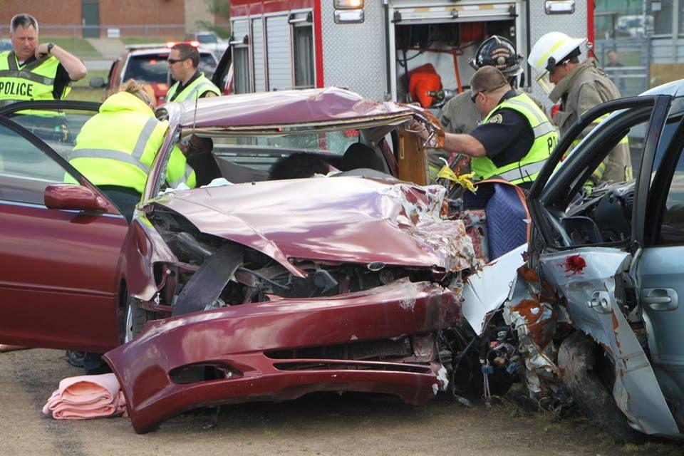 Texting Car Crash Pictures