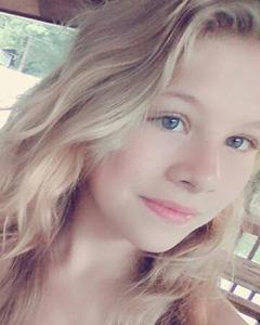 15 year old blonde girl