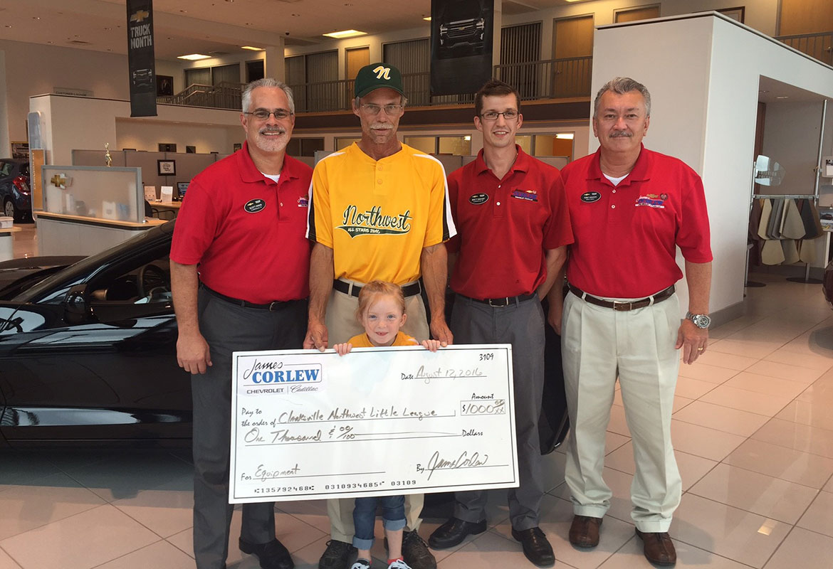 James Corlew Chevrolet Cadillac Hits Grand Slam For Area