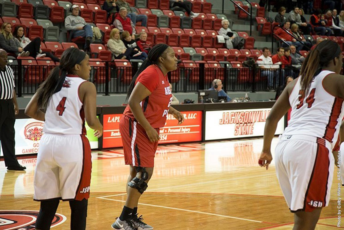 Crusaders fall to jacksonville state, 75-58 in exhibition action