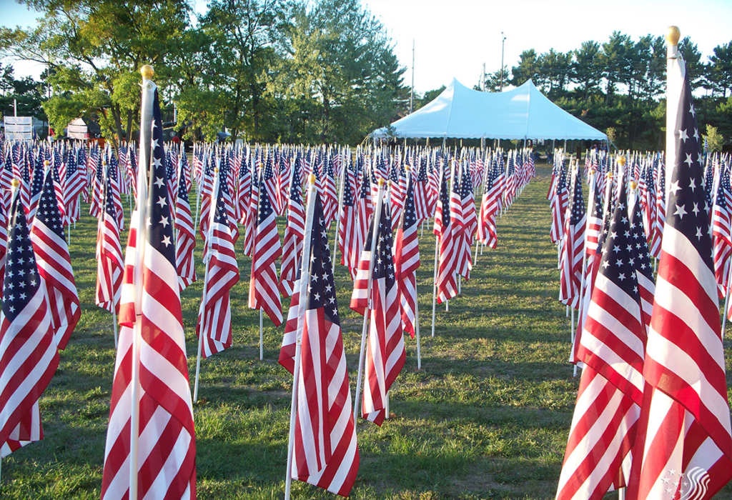 Field of Honor tribute flags available for order