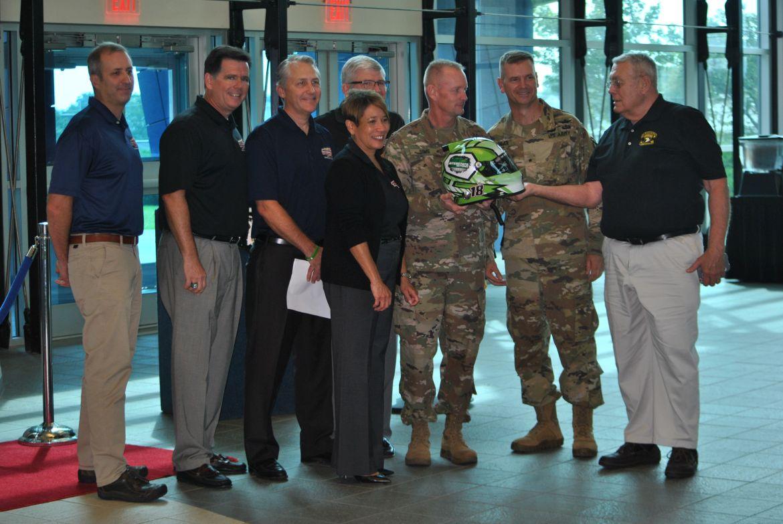 NASCAR XFINITY donates racing memorabilia to 101st Association | ClarksvilleNow.com