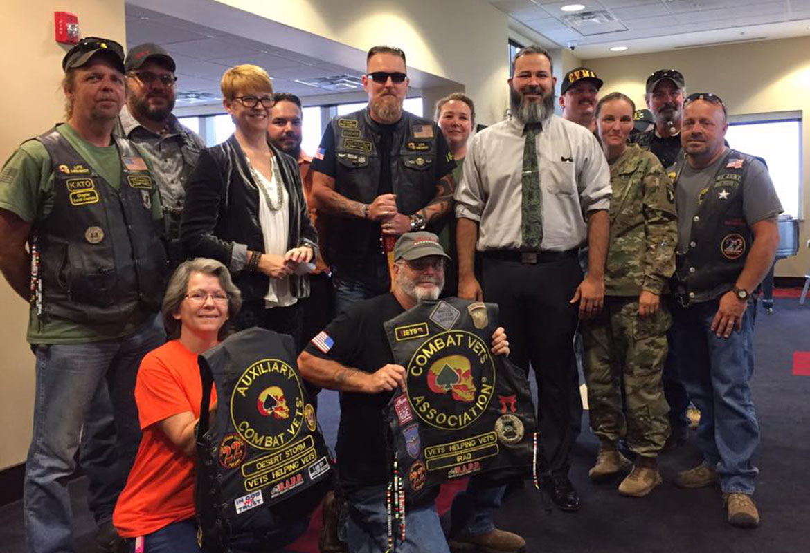Combat Vets Motorcycle Association donates to Soldiers And