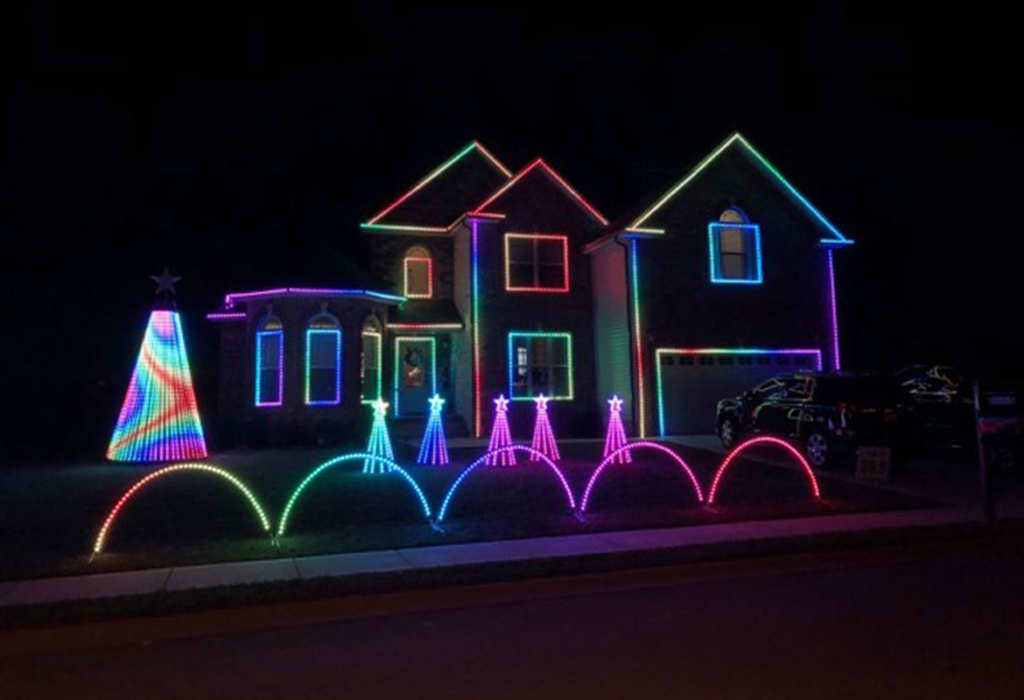 Clarksville NowCourtesy: Erik Goodwin Website Provides An Interactive Map  Of Holiday Light Displays All Over Clarksville.