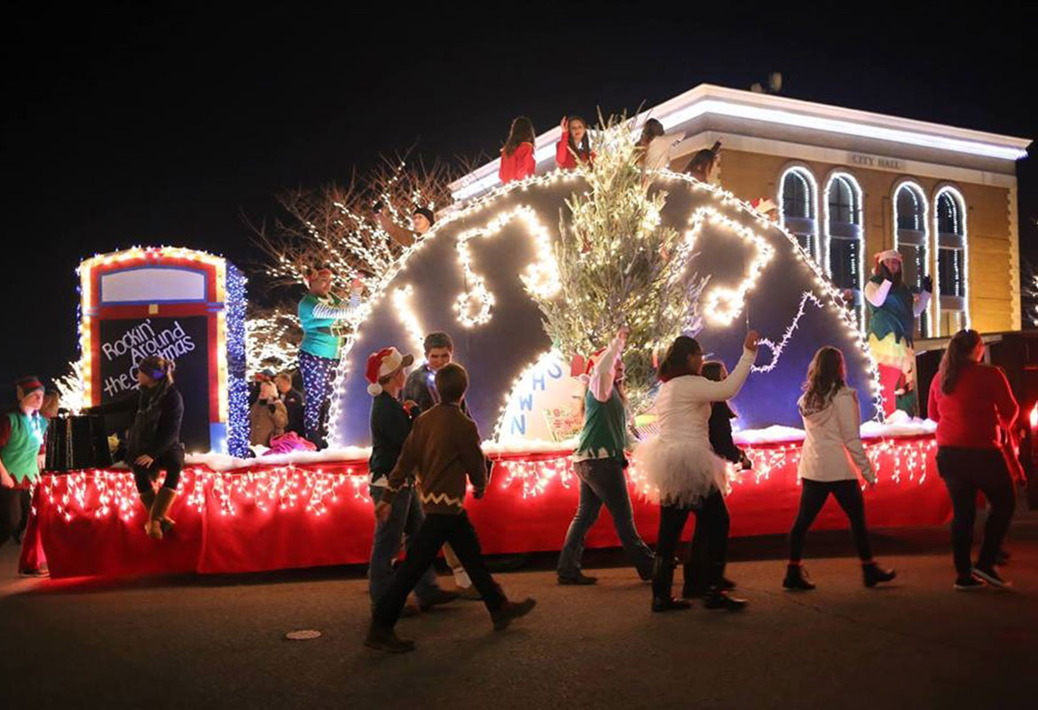 Christmas Parade Will Light Up Downtown Clarksville