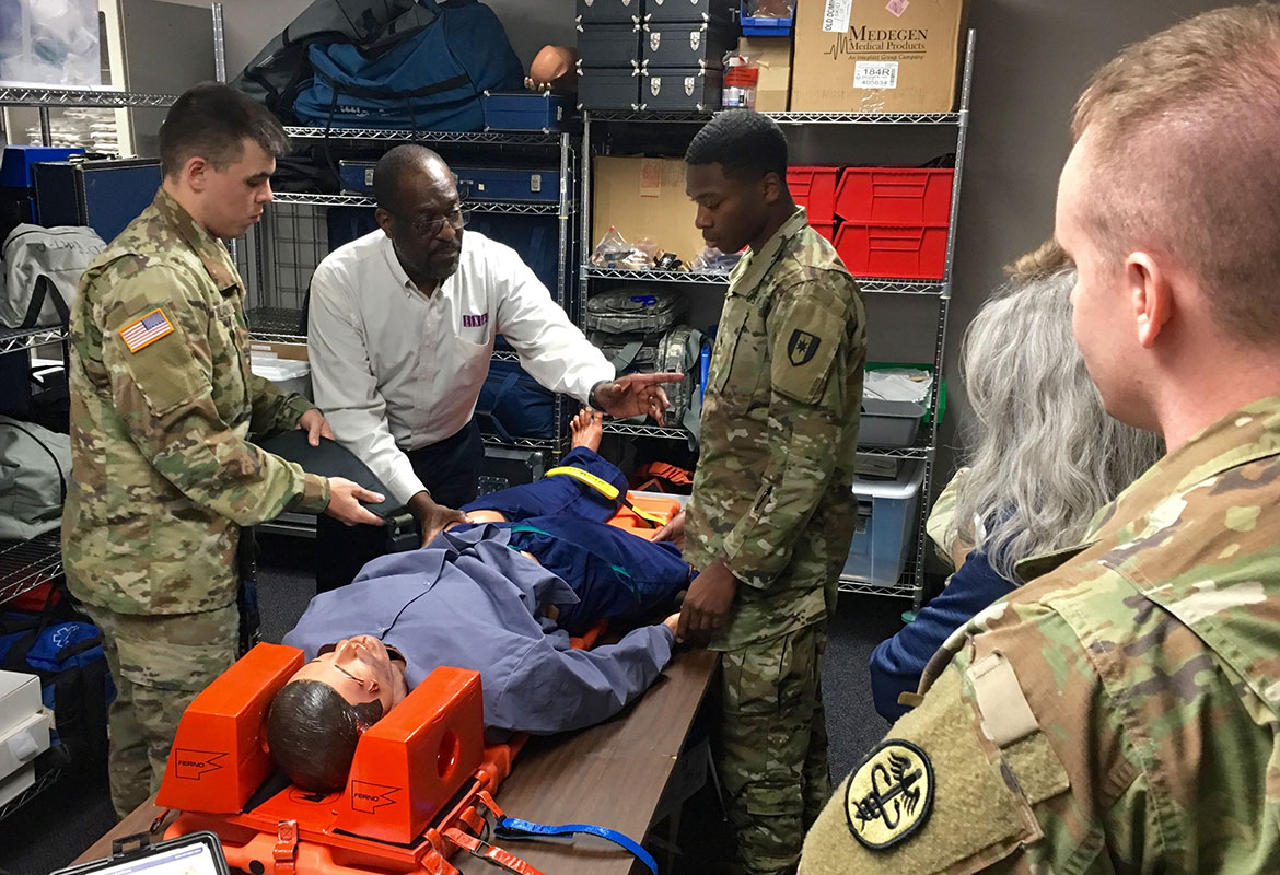 trauma training improves medical readiness for bach  fort