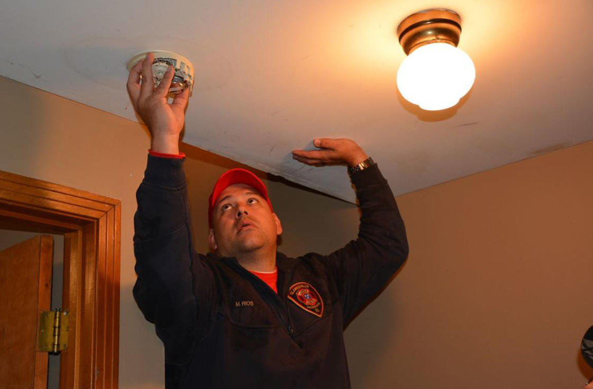 Homes Receive Free Smoke Detectors