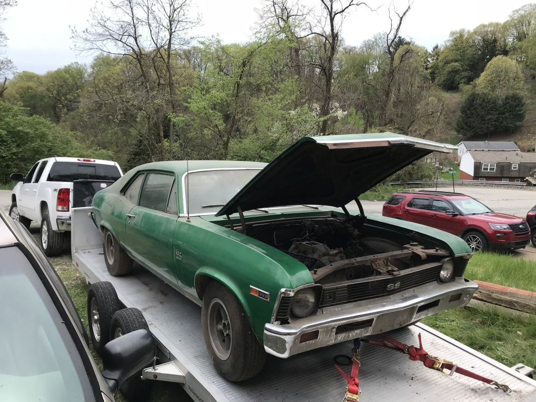 Muscle Car Hunter Patrick Nichols Uncovers Super Rare 69 Nova