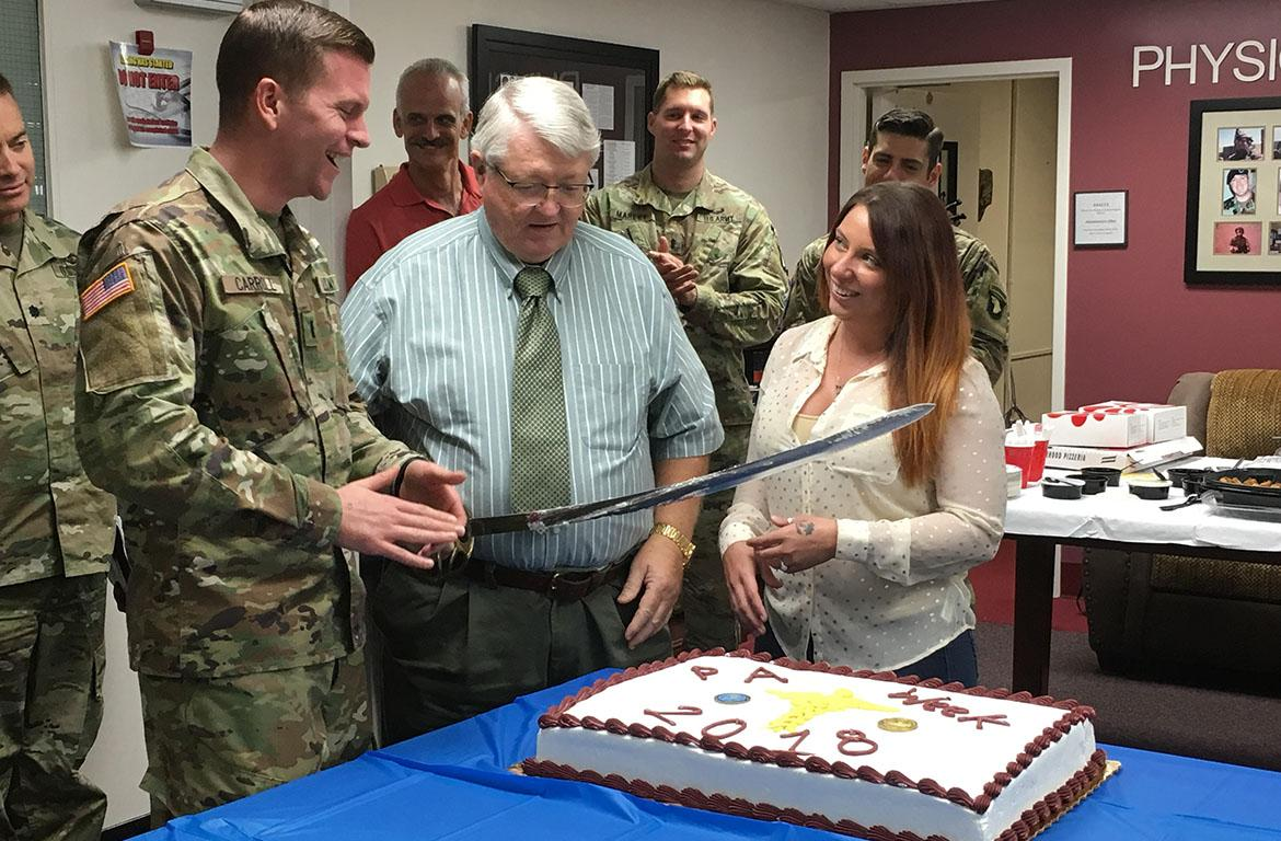 Army Pa Program >> Blanchfield Recognizes Fort Campbell Physician Assistants During Pa
