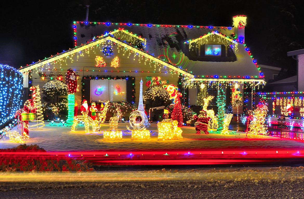Christmas in Clarksville features interactive map of local lights ...
